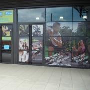 Autocollants publicitaires grand format pour vitrine