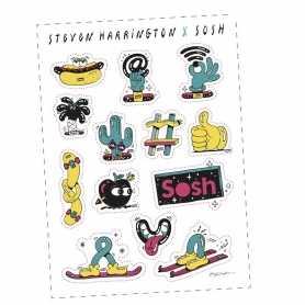 Sticker boards