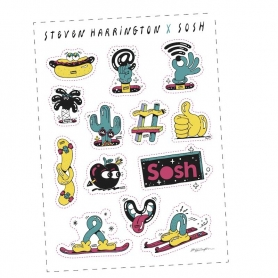 Planches de stickers