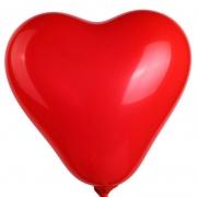 Ballon Coeur Publicitaire rouge