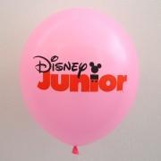 ballons publicitaire rose - marquage 2 couleurs