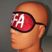Bandeau yeux personnalisable - sur mannequin