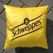 Coussins standard publicitaire - jaune