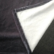 Couvertures publicitaire noir - couture