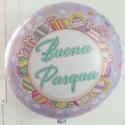 Ballon Mylar publcitaire - forme ronde marquage quadri