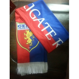 Polyester supporter scarf