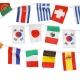Guirlande drapeaux publicitaire pays
