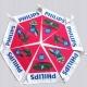 Guirlande drapeaux publicitaire triangle