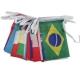 Guirlande drapeaux publicitaire drapeau pays