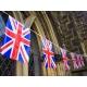 Guirlande drapeaux publicitaire - drapeau Angleterre