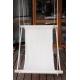 Hamac - Chaise tissus blanc