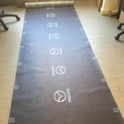 Non-woven tablecloth