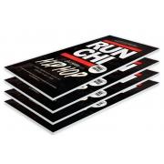 Panneaux PVC publicitaire fond noir