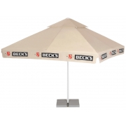 Square umbrella 4 meters