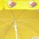 Parasol rond publicitaire 1,80 mètres - structure