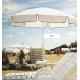 SJ umbrellas – diameter 1.8 m – 8 round, round