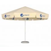 Parasol rond publicitaire - 4 mètres