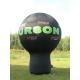Ballon body publicitaire marquage fond noir