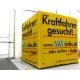 Formes spéciales publicitaire et sur mesure - Cube jaune