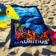 Serviettes de bain publicitaire - pour la plage