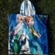 Serviettes poncho enfants publicitaire personnalisé Frozen