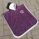 Serviettes poncho enfants publicitaire Fond violet