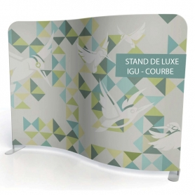 Luxury stand IGU - COURBE