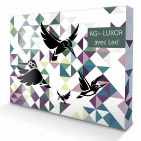 Luxury stand  POP UP - AGI - LUXOR - Straight - LED