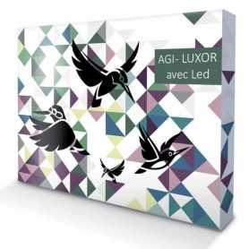 Stand parapluie - AGI- LUXOR - Droit - LED