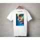 Textile impression directe publicitaire t-shirt blanc