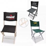 Chaise pliable publicitaire et personnalisable