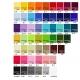 Chaise pliable publicitaire - couleurs tissus
