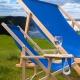 Transat Drink publicitaire tissus bleu