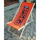 Transat Standard publicitaire - logo sur fond orange