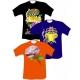 Transferts quadrichromie publicitaire sur T-shirt de couleurs
