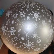 Large Round Ball – METALLIC 40 to 100 cm
