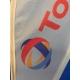Table flag with aluminum pole