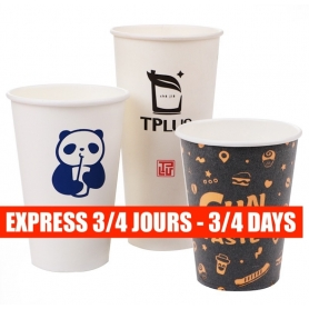 Paper cups EXPRESS 3/4 DAYS
