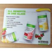 Set de table publicitaire en plastique (PP)