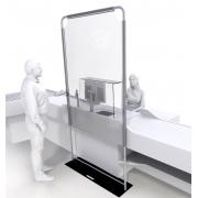 MAN stand - EVA - Transparent