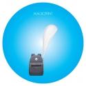 Drapeau sac à dos personnalisable - format windrop sans contour