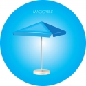Sun umbrella SR 3.5 X 3.5 – 4 Pans, square