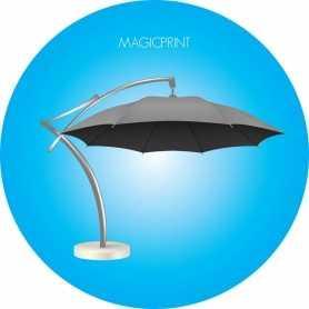 Offset round umbrella 3,5 meters