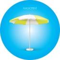 Round umbrella 5,50 meters - Reinforced Mast