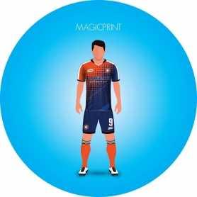 Vêtements de sport personnalisé - T-shirt RUGBY face
