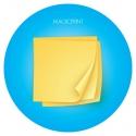 Serviettes publicitaires DE COULEURS en papier