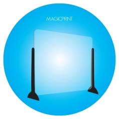 Ecran plexiglass de protection