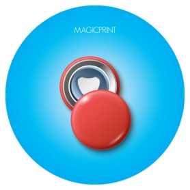 Magnet publicitaire décapsuleur