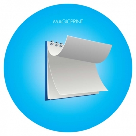 Magnets calendrier publicitaire