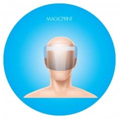 Transparent protective visor